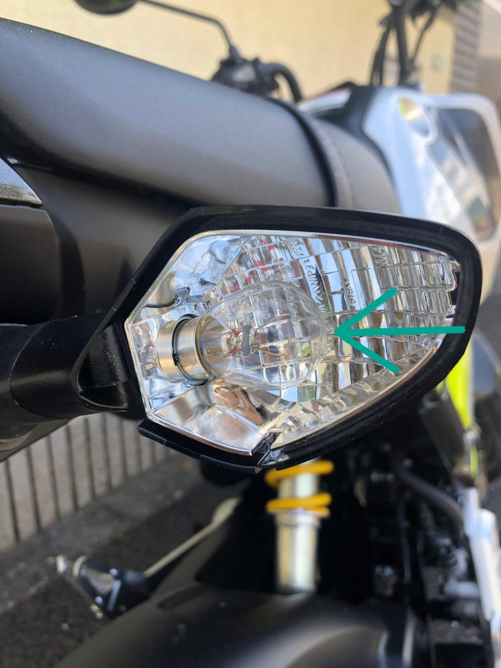 turn signal light eject